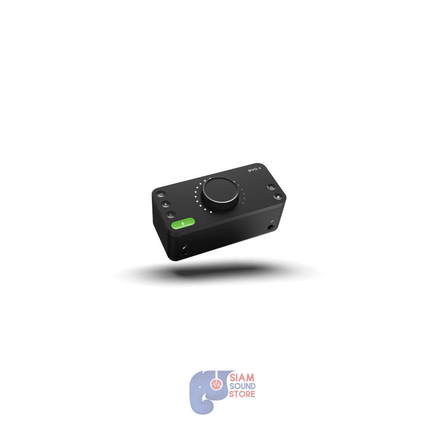ออดิโออินเตอร์เฟส ยี่ห้อ Audient รุ่น EVO4 USB Audio Interface